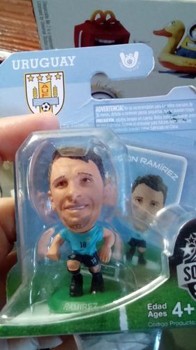 figuras fùtbol selecciòn forlàn suàrez miniaturas por unidad