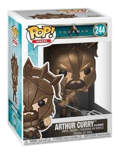figuras funko pop aquaman arthur curry