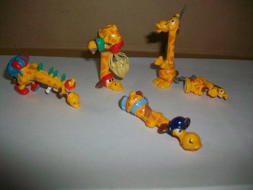 figuras kinder jirafa precio x 4 muñecos y muchos repuestos