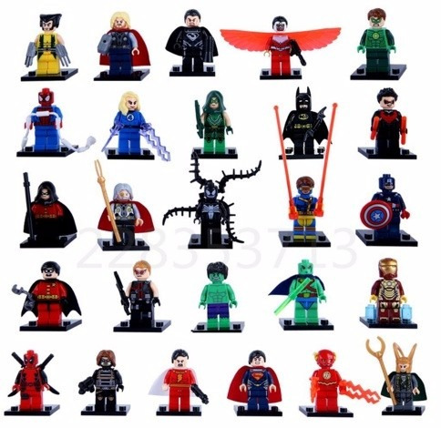 figuras marvel - set 26 figuras