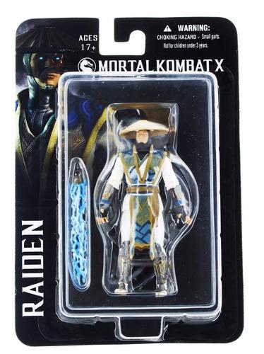 figuras mortal kombat x mezco 100% originales 4-inch action