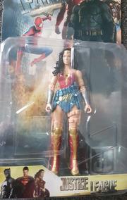 Superman Batman Mujer Figuras Flash Juguetes Maravilla Liga QdtsxhrCB