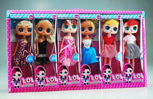 figuras muñecas lol al mayor y al detal nuevas cajas de 12