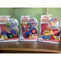 Juguetes Playskool Hulk Iroman Y Spiderman