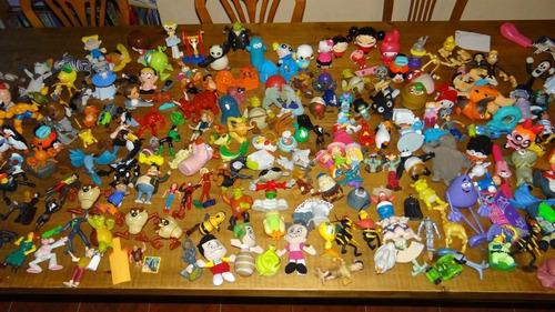figuras muñecos  mcdonalds para tu colección cajita feliz