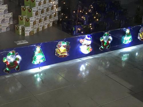 figuras navideñas led serie foco tira navidad led luz blanca