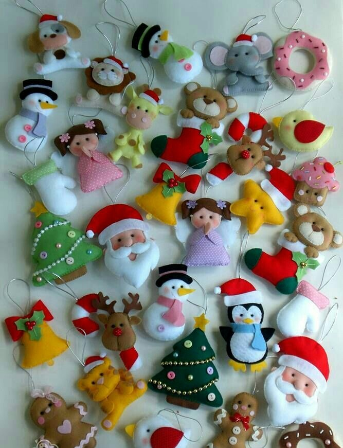 Decorar arbol figuras navideas para decorar arbol de for Figuras de navidad para decorar