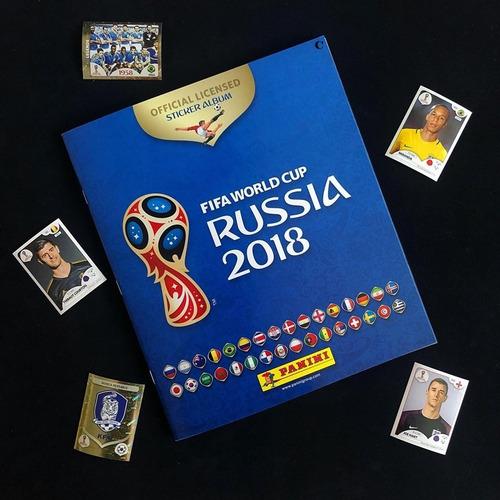 figuras normales 40 centimos panini mundial russia 2018