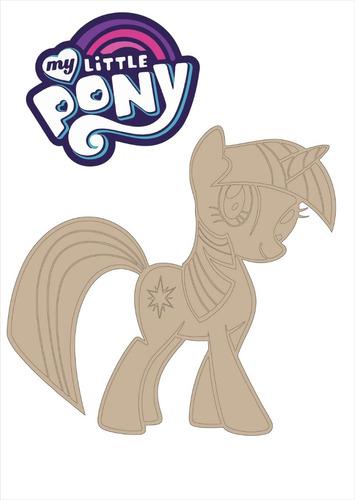 figuras pequeño pony fibrofacil adorno souvenir