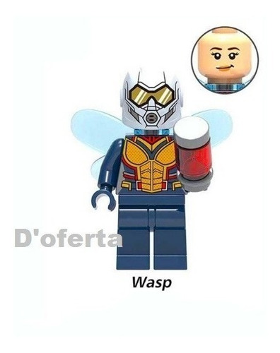 figuras personajes comp. lego ironman spiderman thor antman