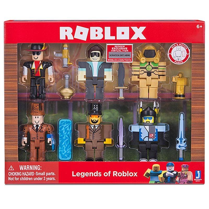 figuras de roblox en mercado libre uruguay Figuras Roblox Pack X 6 Legendarios Original 1 299 00 En Mercado Libre