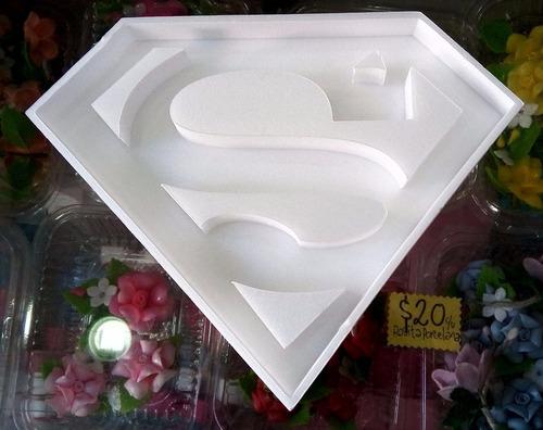 figuras superman huecas 20 cm polyfan belgrano candy caba