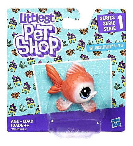 figuras surtidas little pet shop rei angelfisher hasbro