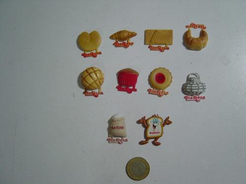 figuras tía rosa imán para refrigerador 10 piezas