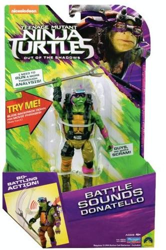 figuras tortugas ninja 4 modelos 6 pulg con sonido original