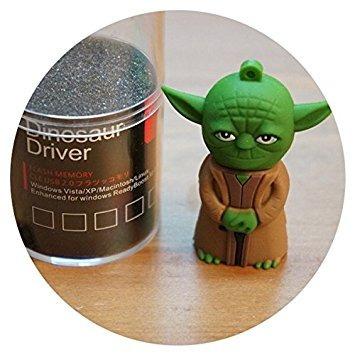figuras yoda usb 8gb dinosaur driver star wars