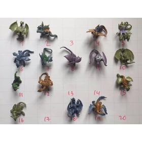 Figuras Yogo Premio Dragones Alpina Usados Colección