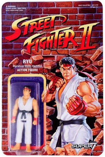 figurastreet fighter 2 ryu retro super7