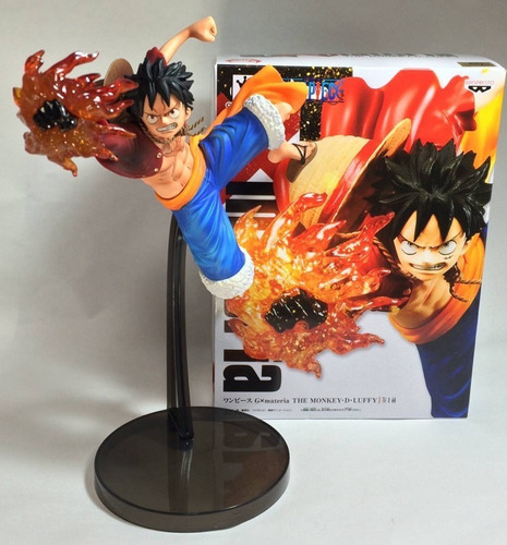 figure monkey d. luffy - gx materia banpresto one piece