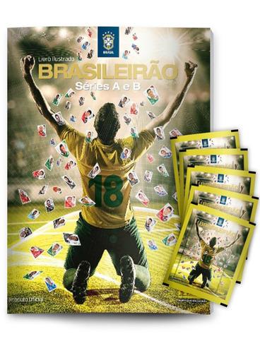 figurinhas 120 envelopes campeonato brasileiro 18