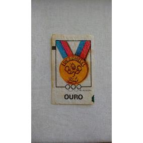 1fc7ce56f31e3 Rara Medalha Figurinha Ping Pong Olimpiadas 1984 Los Angeles