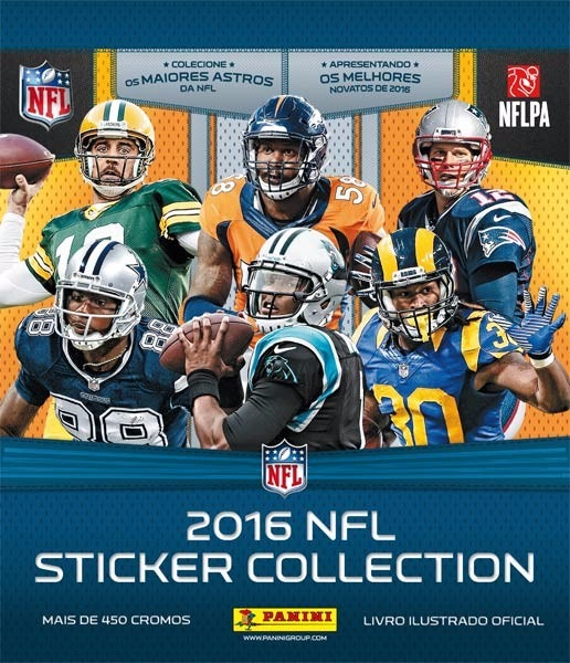 3172ca8eb4 Figurinhas Avulsas Nfl 2016 Sticker Collection Panini - R  1