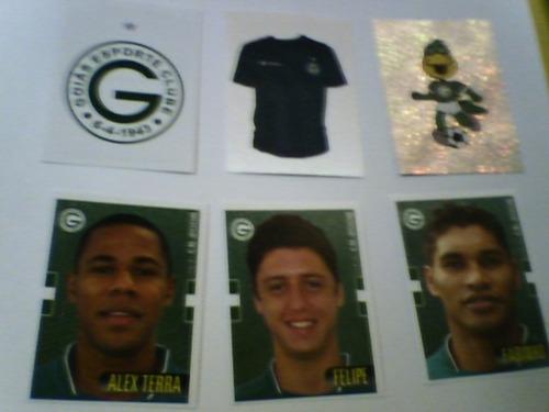 figurinhas campeonato brasileiro 2008 goiás