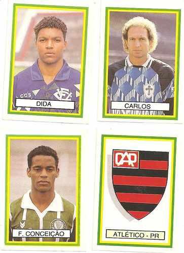 figurinhas campeonato brasileiro 93