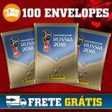 Kit De Figurinhas Da Copa Do Mundo Rússia 2018 100 Pacotes