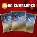 Kit De Figurinhas Da Copa Do Mundo Rússia 2018 50 Pacotes