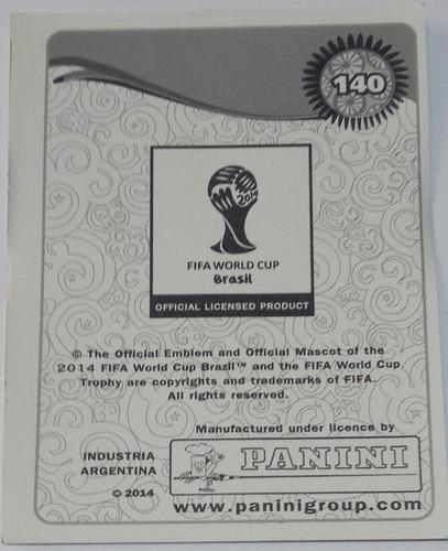 figurita arjen robben panini mundial futbol brasil 2014