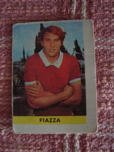 figurita futbol album chapita 1970 lanús piazza 198