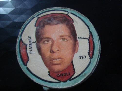 figurita futbol album crack 68 platense cavoli 283
