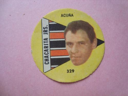 figurita futbol album nuevo fulbito 64 chacarita acuña 329