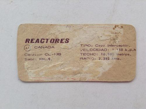 figurita reactores n° 41 album tarzan grandes cacerias 1968
