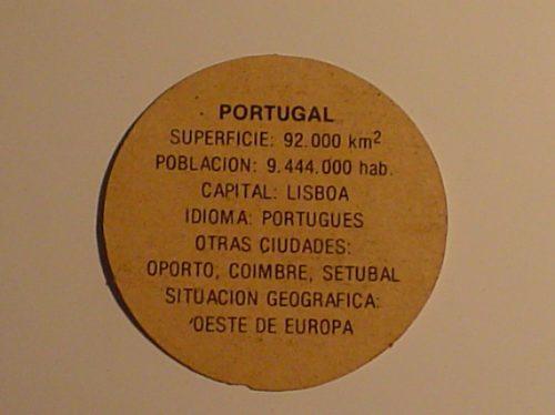 figurita redonda portugal coleccion