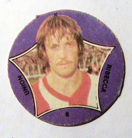 figurita super futbol 1979  - ribecca -  unión