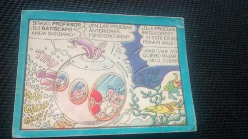 figurita superamigos numero 208 sin despegar cromy 1987