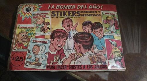 figuritas album comicas  casi lleno año 1969