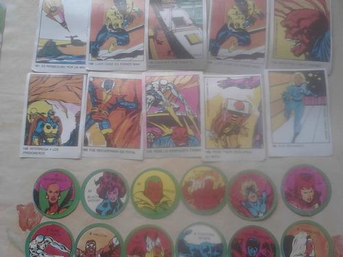 figuritas album superheroes
