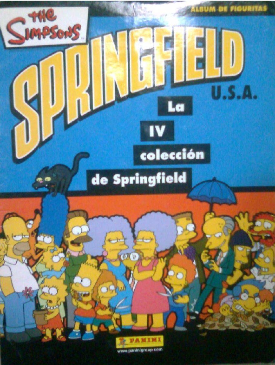 la coleccion de springfield CROMO Nº 116 COLECCION  LOS SIMPSONS PANINI 2011