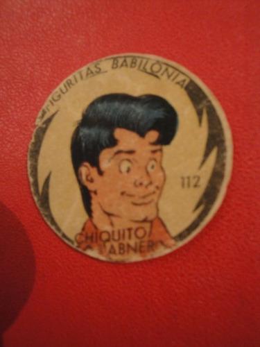 figuritas babilonia nº112 chiquito año 1951 historieta