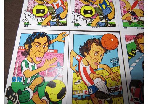 figuritas campeones del deporte 1976 - remasterizadas