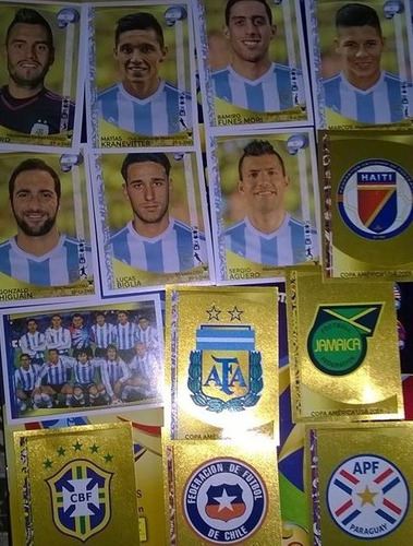 figuritas copa america centenario 2016 berazategui envios