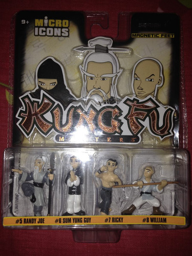 figuritas de kungfu