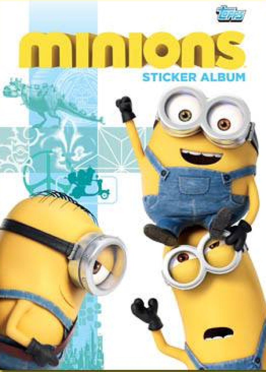Sticker 133-Topps minions-cromos