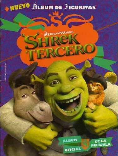 figuritas del album shrek tercero - año 2007