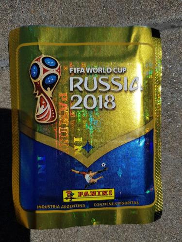 figuritas del mundial rusia 2018 pack por 25