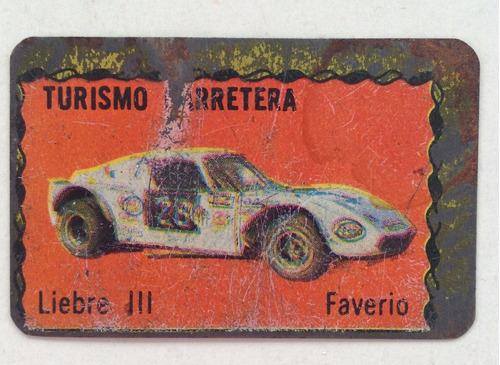 figuritas doble renault 12 liebre iii superchapitas 1972