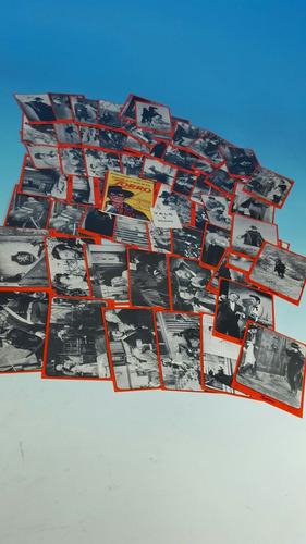 figuritas el zorro-lote de 60 tarjetas - 1 sobre y un vale